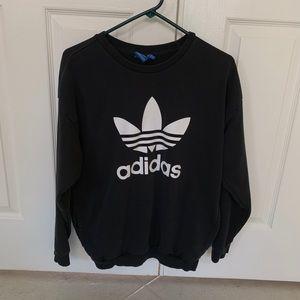 Black Adidas Crew Hoodie
